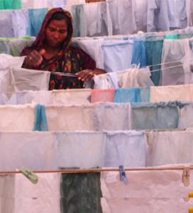 wassen van ragbag plastic